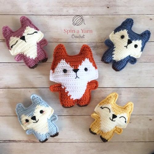 Pocket Fox - Free Crochet Pattern