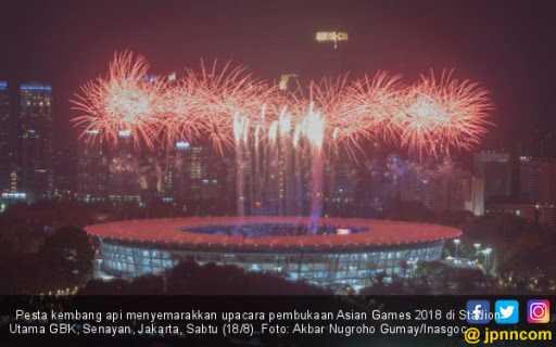 Asian Games 2018 Resmi Dibuka, Selamat Datang di Indonesia