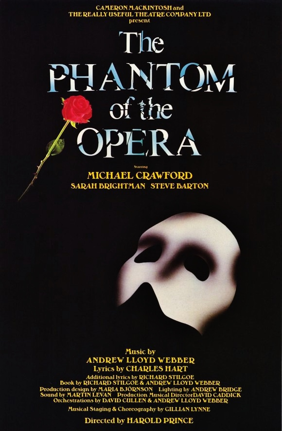 how long is the phantom of the opera play