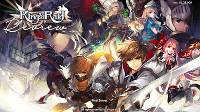 """King's Raid, New RPG Game with """"Not always Pay to Win"""""""