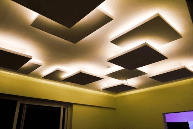 plafon gypsum kamar tidur