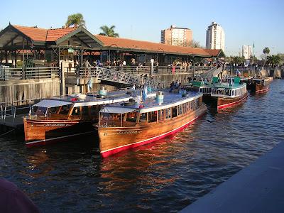 conhecendo a América Latina; Tigre; Grande Buenos Aires; catamarã; Catamaranes Interilneña;