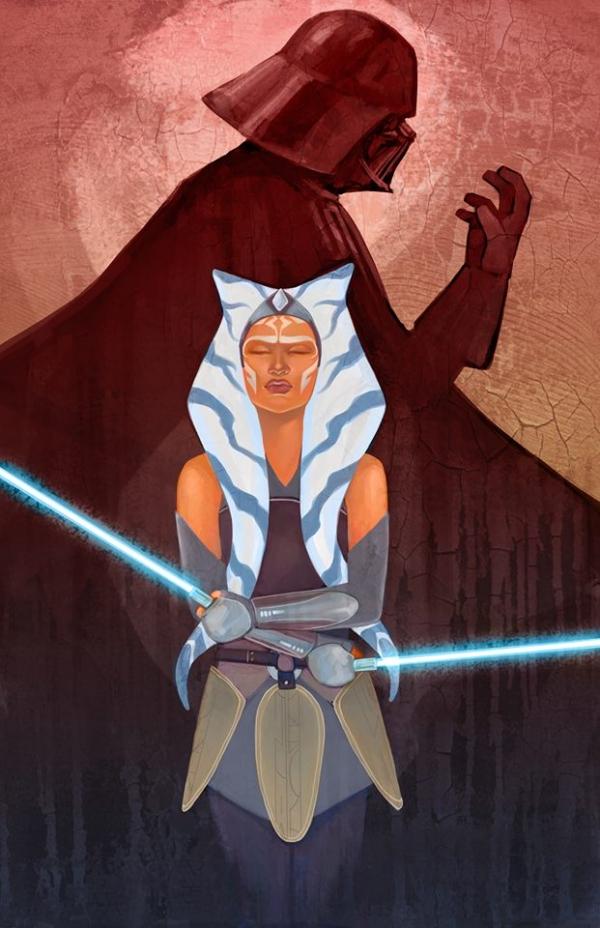 Darth Vader: darth vader vs ahsoka tano