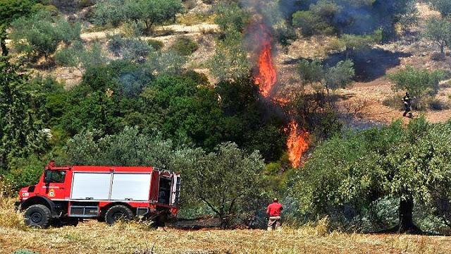 Πολύ μεγάλος ο κίνδυνος πυρκαγιάς και την Πέμπτη 30 Ιουλίου στην Αργολίδα