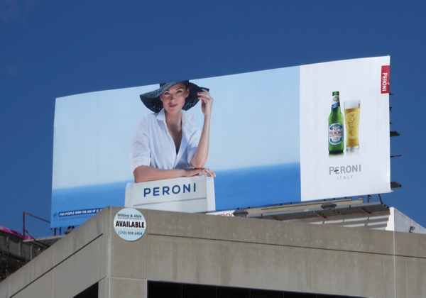 Peroni Beer 2017 billboard