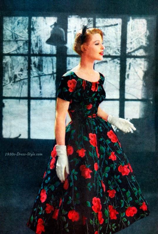 1950s Fashion 1950s Dress Style