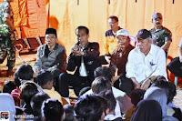 Presiden Janjikan Rp50 juta untuk Rumah Rusak Berat, Rp25 juta Rusak Sedang