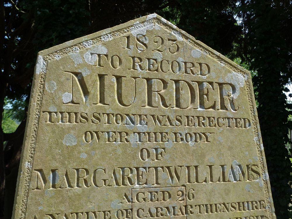 murder stone