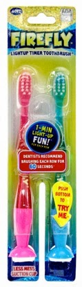 firefly light up toothbrushes