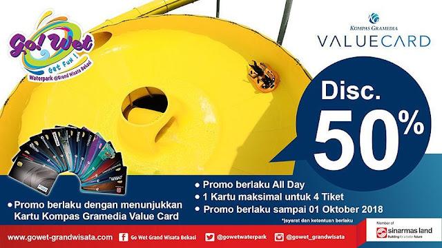 GoWet - Promo Diskon 50% Pakai KGVC Maks Untuk 4 Orang (s.d 1 Okt 2018)