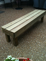 8' heavy duty bench