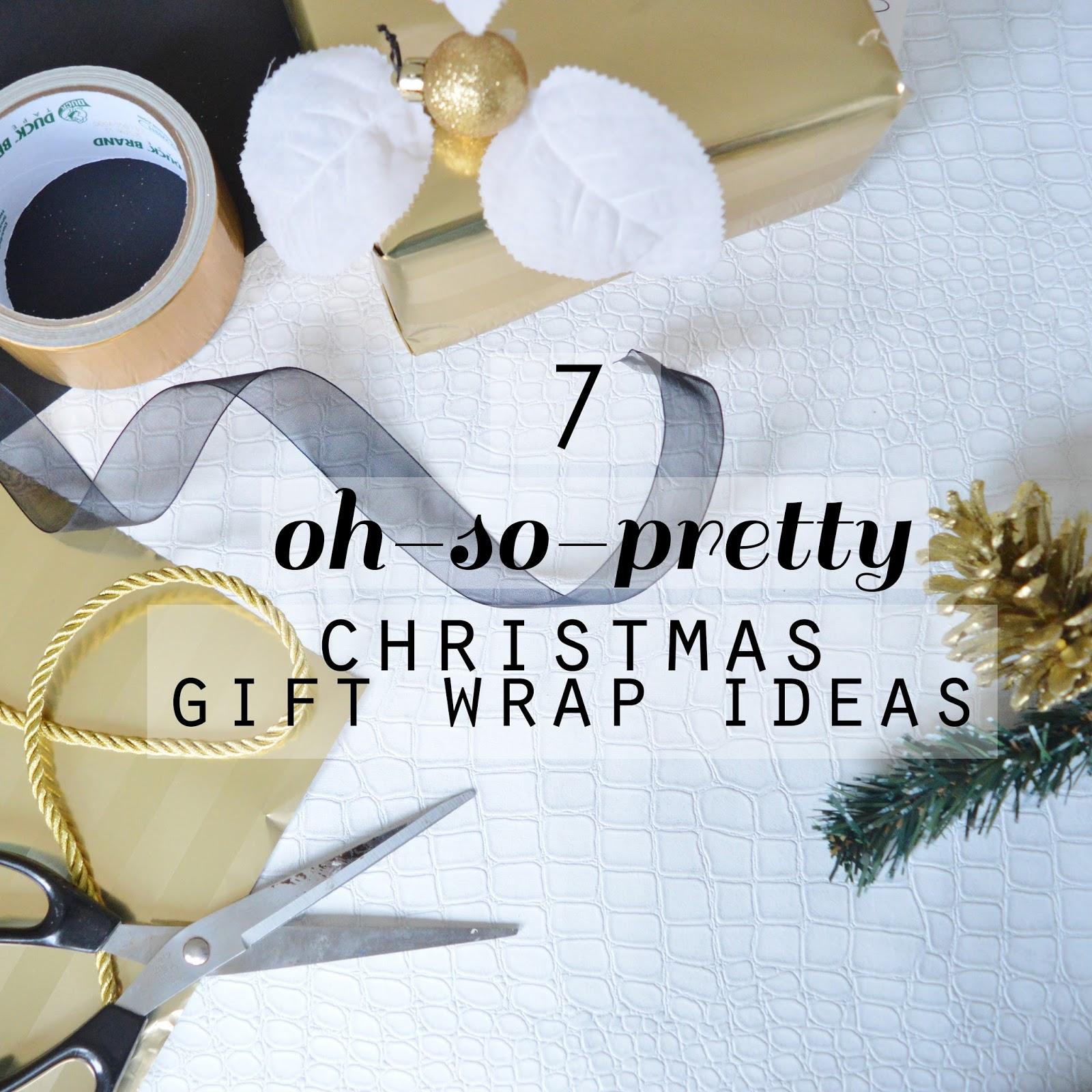 Pinspiration: 7 oh-so-pretty Festive Gift Wrap Ideas