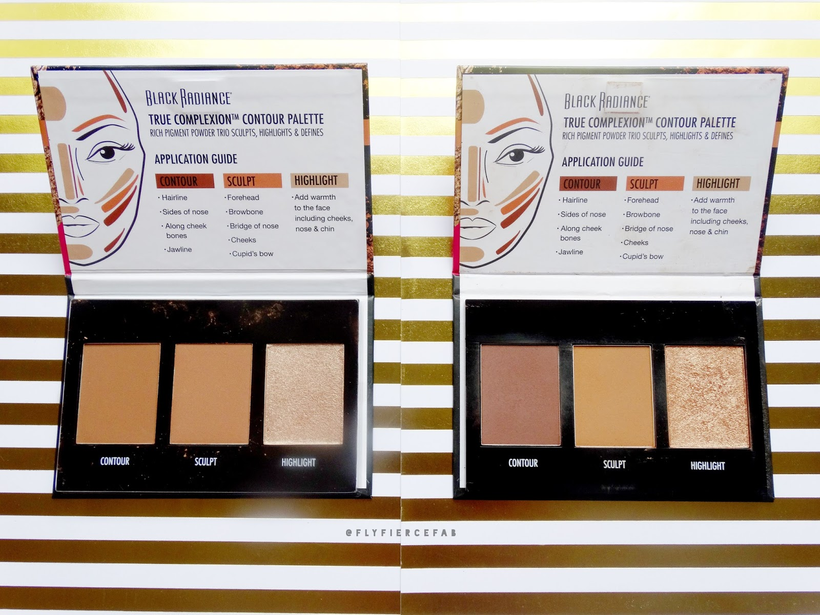 Black Radiance True Complexion Contour Palettes Review