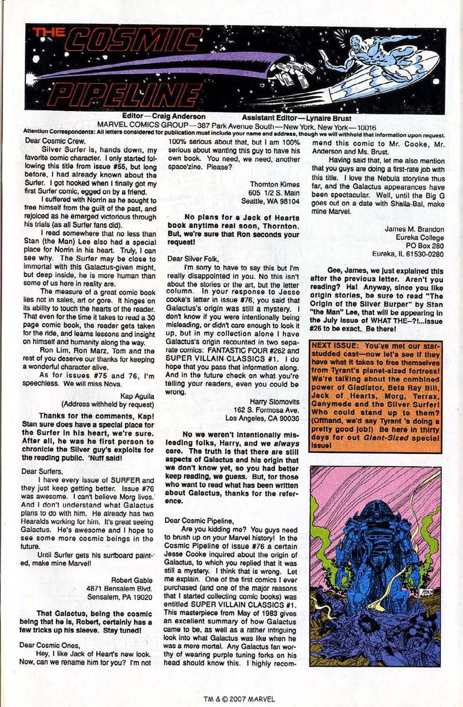 Read online Silver Surfer (1987) comic -  Issue #81 - 33