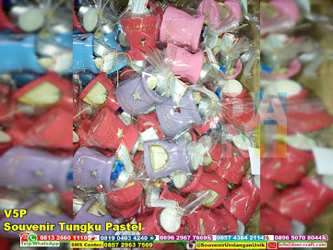 jual Souvenir Tungku Pastel