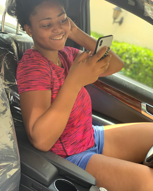 Regina Daniels Aquire A New Car