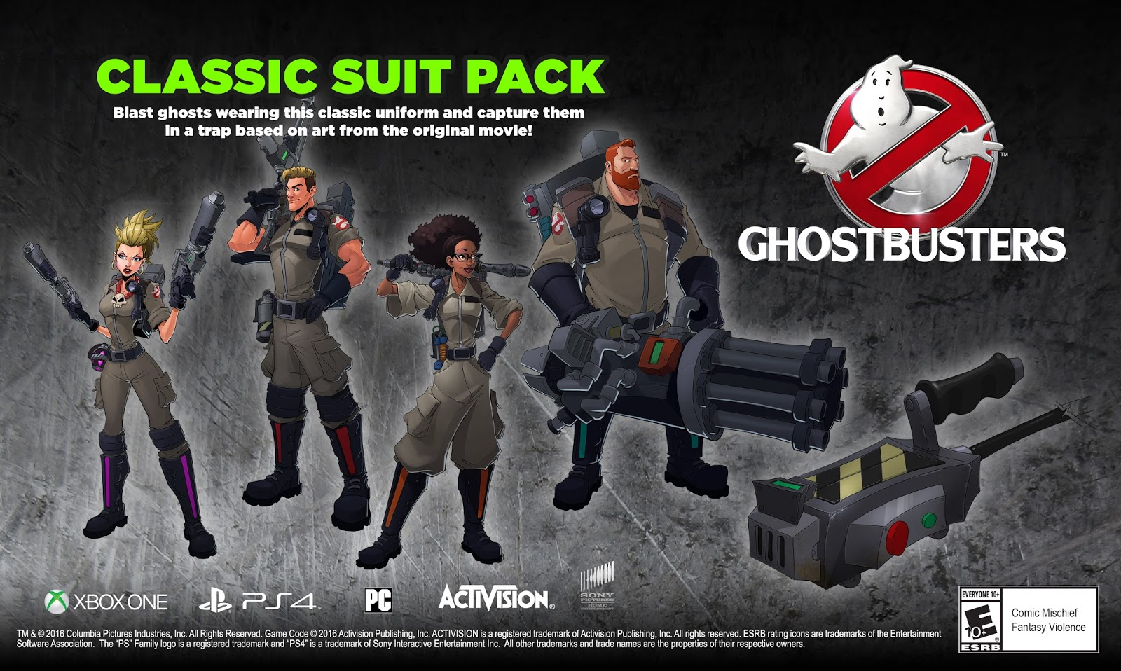 The Ghostbusters Ultimate Bundle Coming To PS4 On July 12