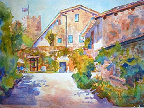Deanna S Paintings Paintings Of Italy Italian Landscape
