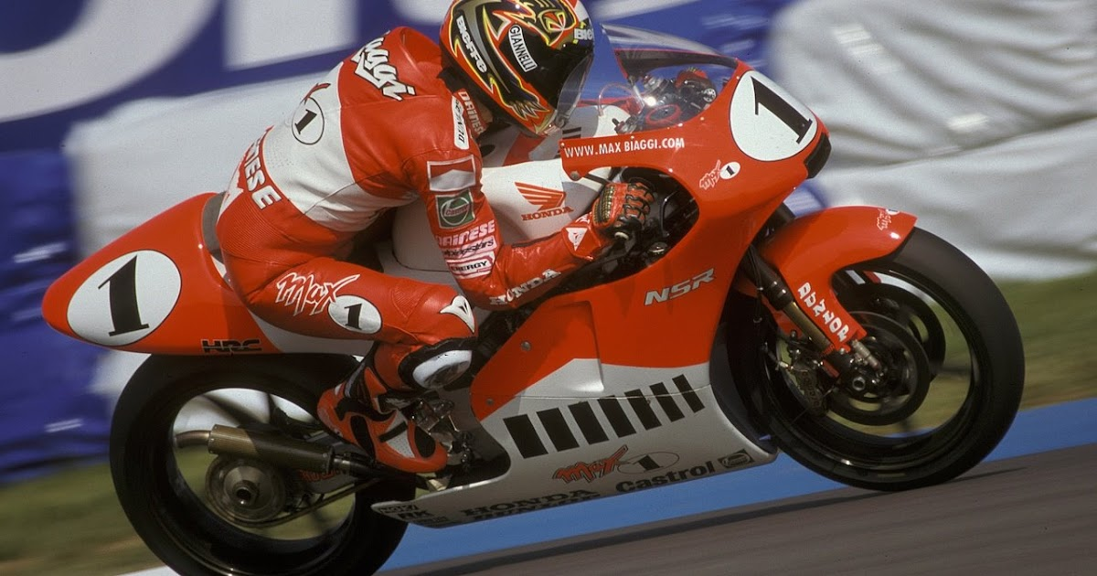 Racing Caf 232 Photo 446 Max Biaggi 1997