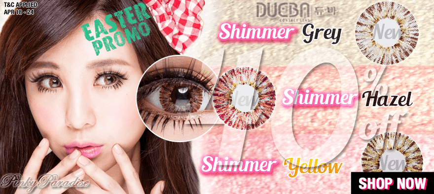 New Products - G&G Shimmer Series - Color Lens
