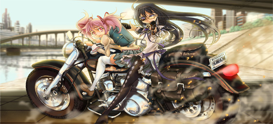wallpapers hd anime Puella Magi Madoka Magica