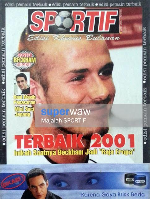 Majalah SPORTIF: TERBAIK 2001