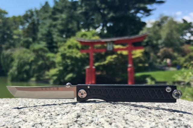 Sable samurai de llavero: sustituirá la clásica navaja suiza