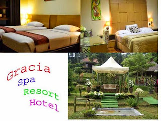 Gracia Spa Resort Hotel Lembang