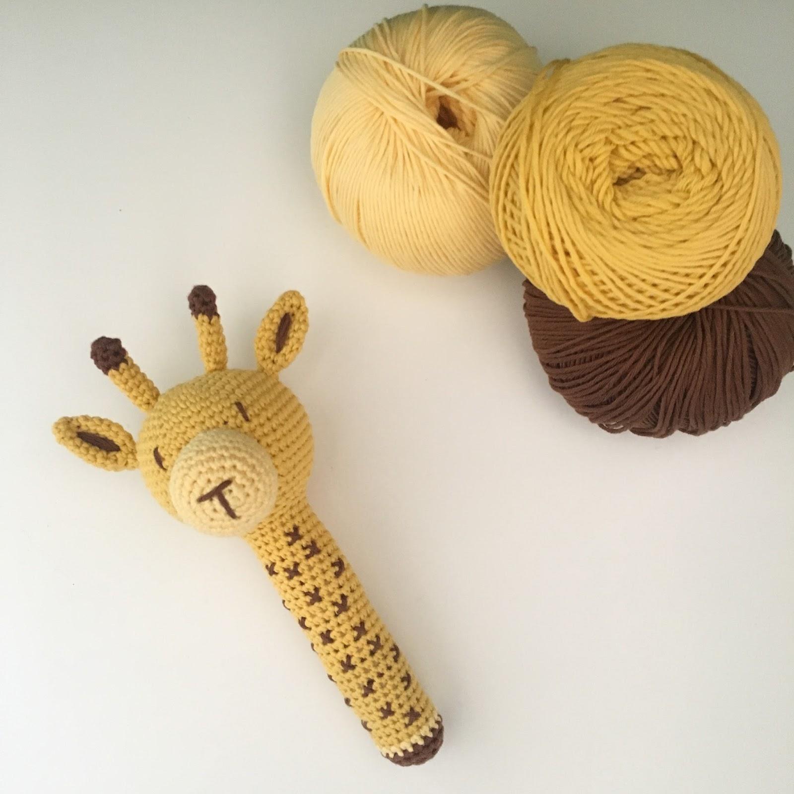 El blog de Dmc: Patrón de ganchillo gratis: Tali, la jirafa por ...
