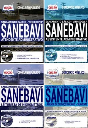 Apostila Concurso SANEBAVI Vinhedo 2018