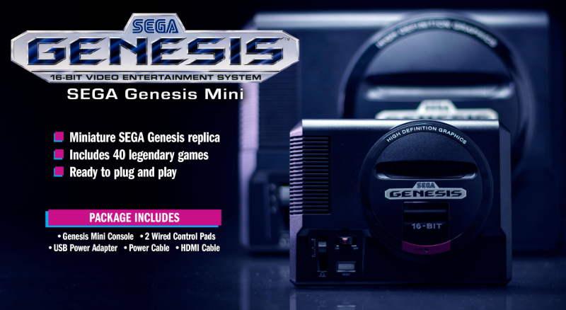 Sega Mengungkap 10 Game untuk 'Sega Genesis Mini' Versi Konsol Jepang