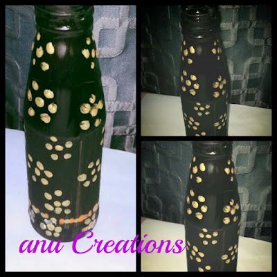 my latest creations- bottles not empty