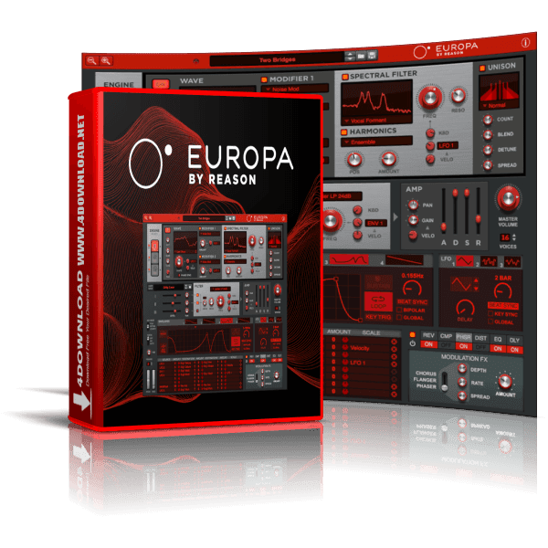 Propellerhead - Europa by Reason v2.0.0 Full version