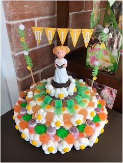 Compranos una tarta de comunion de chuches online