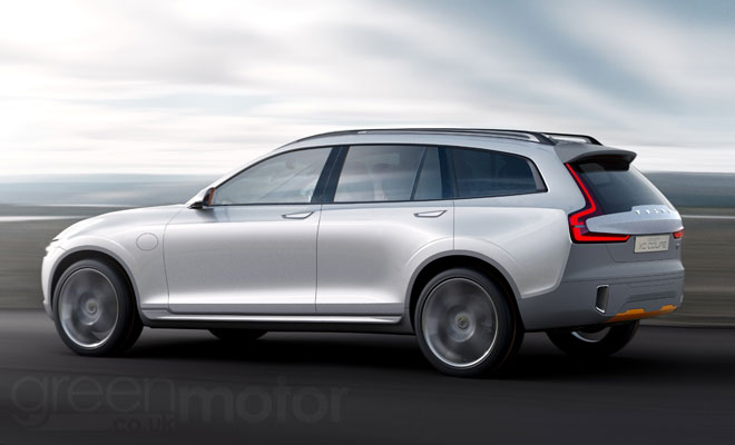How the new XC90 T8 might look