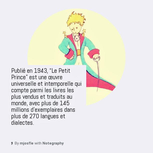 Tics En Fle Le Petit Prince Ressources Lecture