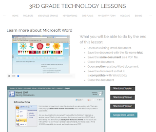3rd grade technology lesson plans and activities for the entire school year that will make a great supplement to your technology curriculum. These lesson plans and activities will save you so much time coming up with what to do during your computer lab time. Ideal for a technology teacher or a 3rd grade teacher with mandatory lab time. All of the work is done for you!