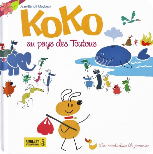 Koko au pays des Toutous de Jean-Benoît Meybeck - Des ronds dans l'O jeunesse