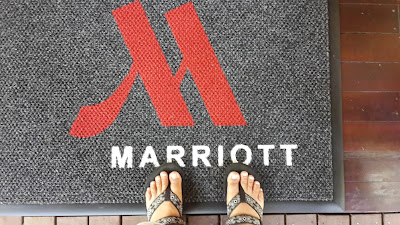 Saya menginjakkan kaki di Marriot Mulu Resort and Spa