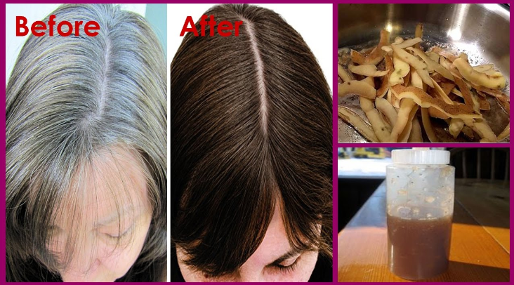 Natural Remedy To Give Your White Hair Its Color Before