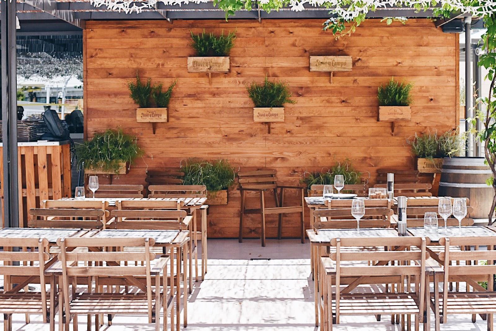 La florinata cadena ser hora barcelona terrazas con for Terrazas con encanto