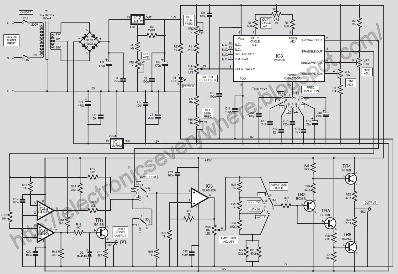 Hd Wallpapers Circuit Diagram Of Function Generator Using Icl8038 Negative Voltage Reference Tradeoficcom Get Free High Quality