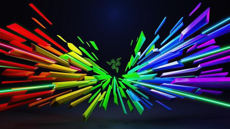 Razer, Colorful, Logo, 4K, #6.1279
