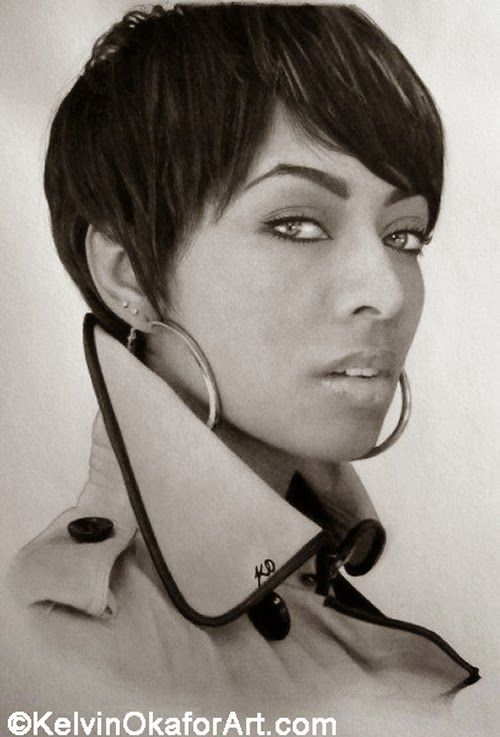06-Keri-Hilson-Kelvin-Okafor-Celebrity-Portrait-Drawings-Full-of-Emotions-www-designstack-co