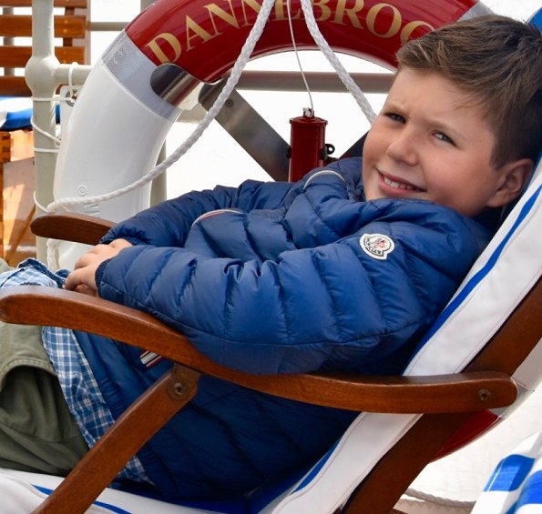 Prince Christian, the eldest son of Crown Prince Frederik and Crown Princess Mary, is celebrating his 12th birthday