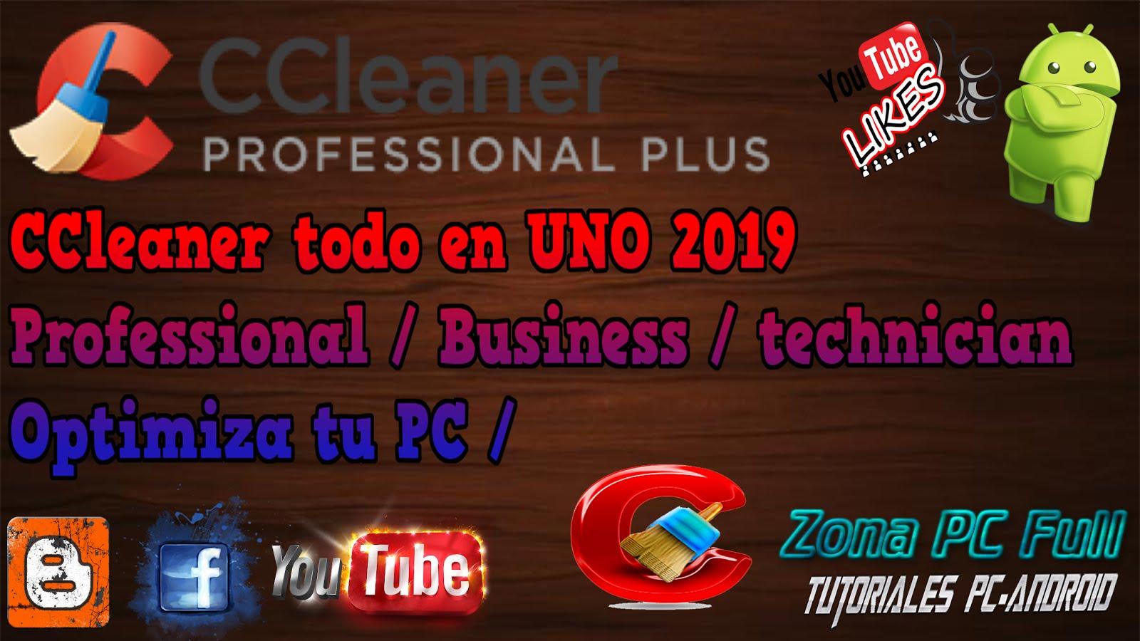 ccleaner professional plus full español 2018 mega