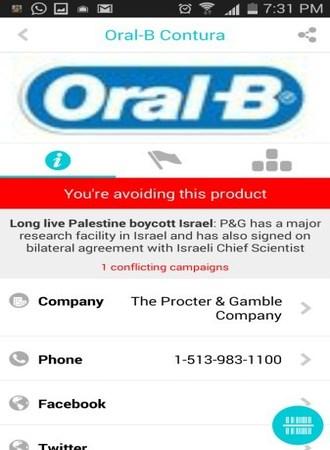 Aplikasi mobile Buycott [4]