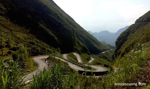 1 cung đường nhiều dốc liên tục ở Phố Cáo, Hà Giang