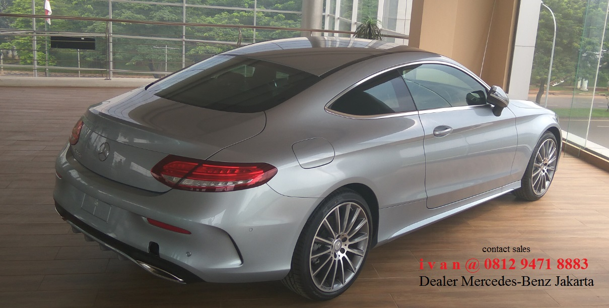 New mercedes benz c43 c300 amg coupe 2017 indonesia for Mercedes benz service a coupons 2017