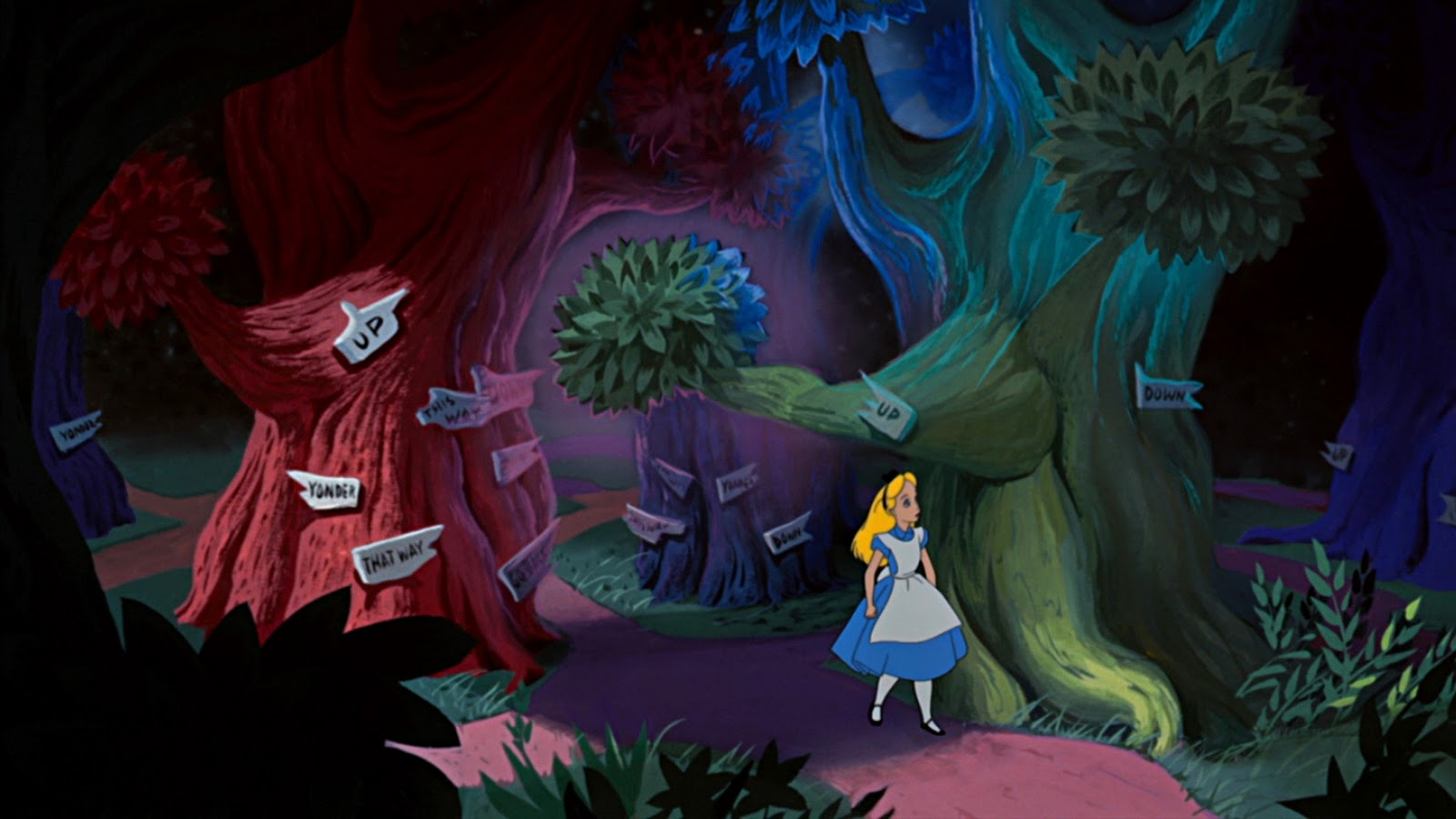 Chris mason ma design for film television events my - Alice in wonderland cartoon pictures ...